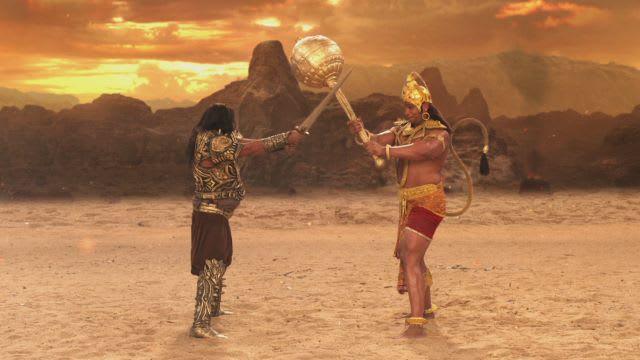 Watch Siya Ke Ram TV Serial Episode 95 - Hanuman Kills Ahiravan Full  Episode on Hotstar