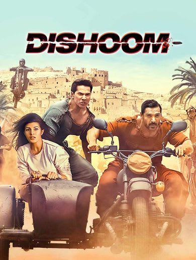 Watch Dishoom Full Movie, Hindi Action Movies in HD on Hotstar