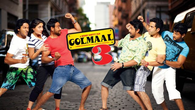 Golmaal 3 Full Movie, Watch Golmaal 3 Film on Hotstar