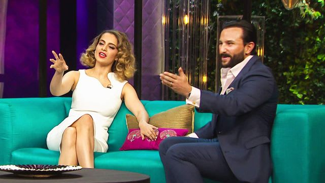 Watch Koffee With Karan TV Serial Episode 16 - Saif, Kangana Let It All Out  Full Episode on Hotstar